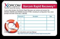 Xorcom Rapid Recovery