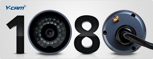 Y-cam Bullet HD 1080 Wireless IP Camera