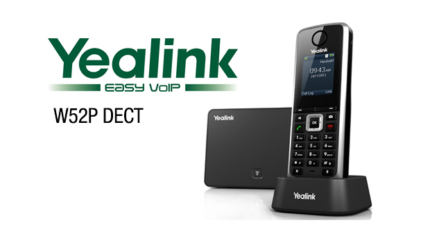Enjoy Great User Experience in your daily work with Yealink DECT Phone – W52P