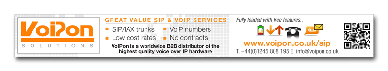 VoIPon in Comms Business Magazine