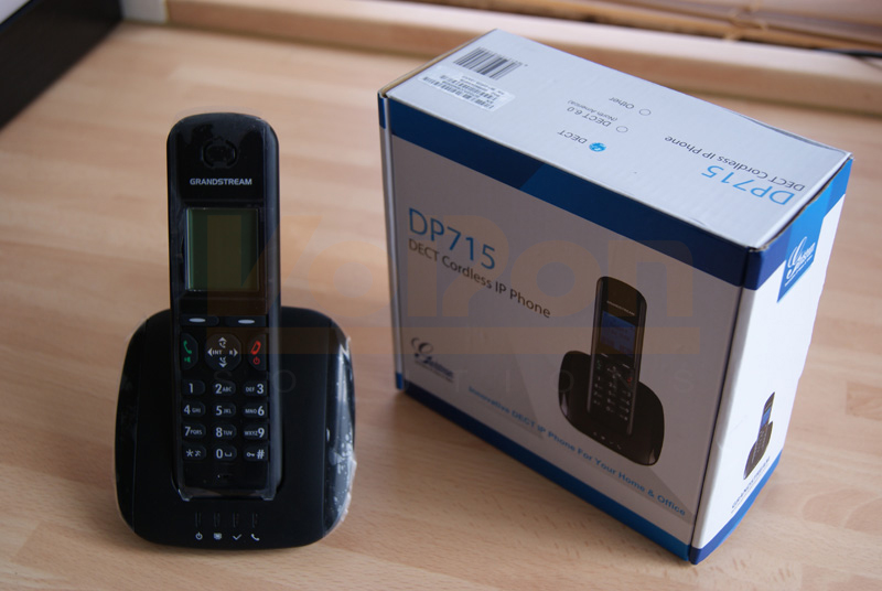 A Quick Look and Review of the Grandstream DP715 IP Phone