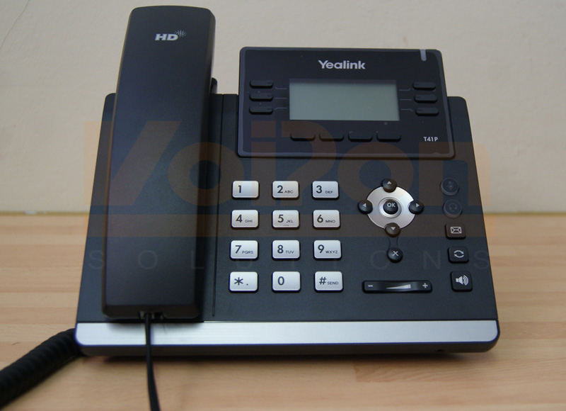 A Quick Look And Review Of The Yealink T41p Desk Voip