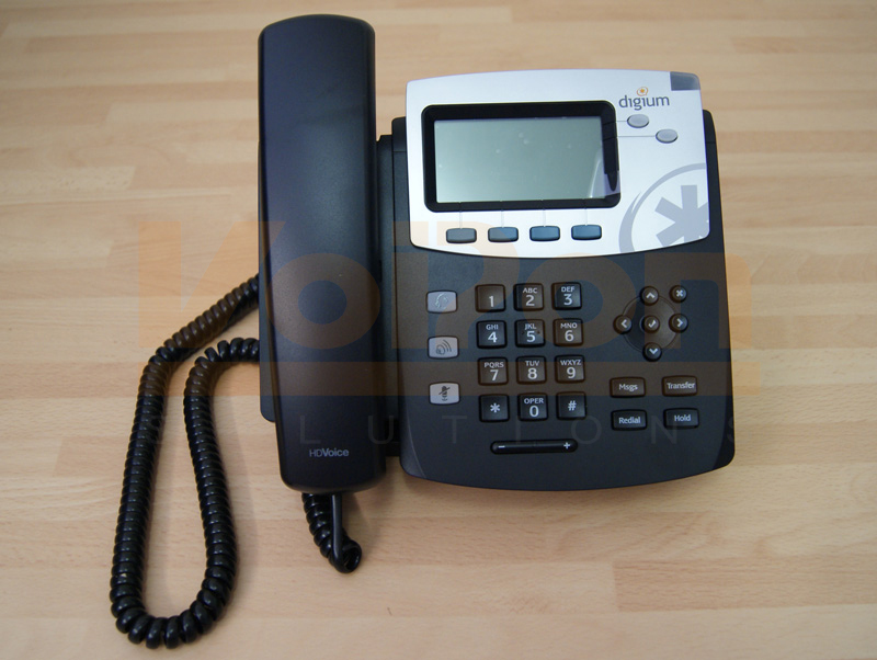 A Quick Look and Review of the Digium D40 VoIP Desk Phone