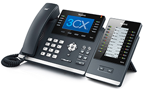 Strategic partnership pairs 3CX' best of breed Windows-based IP PBX with Yealink IP Phones for fully interoperable end to end Business Telephony Solution
