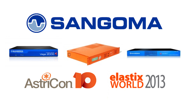 Sangoma to Showcase New Solutions at AstriCon 2013 and ElastixWorld 2013