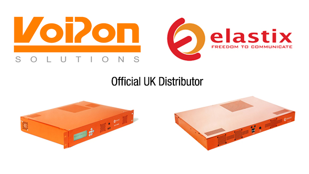 VoIPon Solutions Announced as Authorized Distributor of Elastix products in the UK