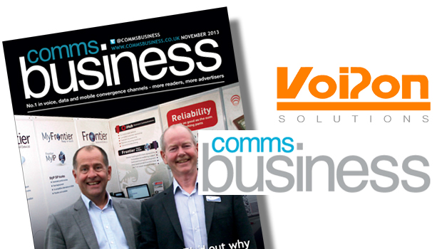 VoIPon Discusses Interoperability Testing, Set up on IP PBX platforms and Telephony Recommendations with Comms Business Magazine