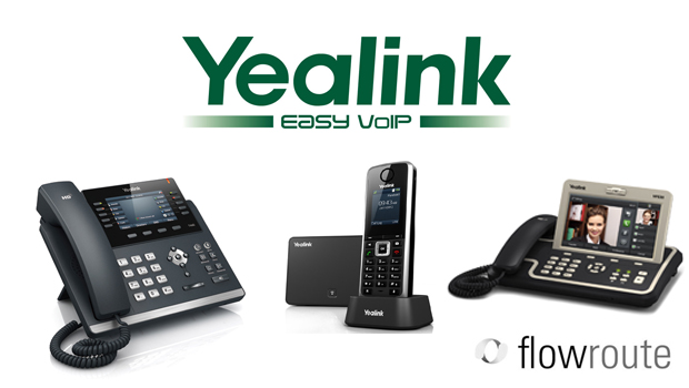 Yealink and US SIP Trunking Provider Flowroute Complete Interoperability Test
