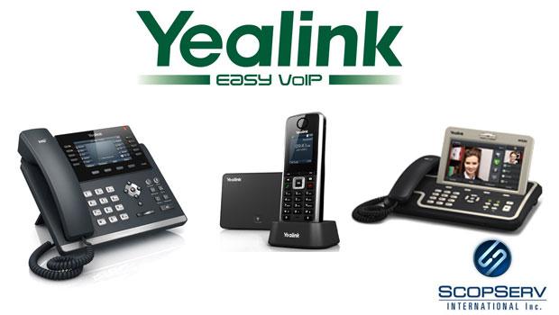 Yealink Announces Interoperability with ScopServ ScopTELTM IP PBX