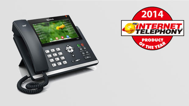Yealink Receives 2014 INTERNET TELEPHONY Product of the Year Award