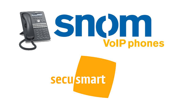 snom and Secusmart increase security with the development of Anti-tapping protection