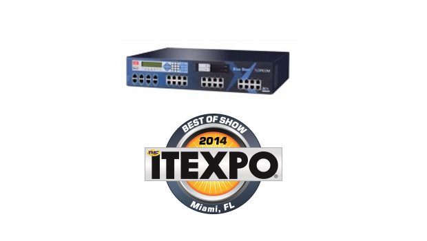 "Xorcom ""Blue Steel"" Wins Best of Show at ITEXPO Miami 2014"