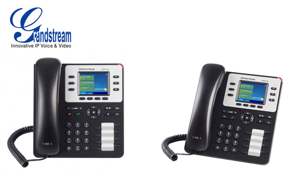 Grandstream unveil the GXP2130 IP Phone with Colour LCD, HD Audio, and Gigabit Speed