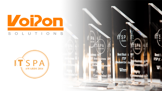 VoIPon Sponsor Best VoIP CPE Award at ITSPA 2014