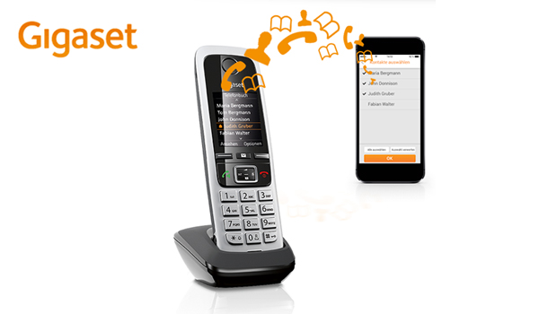 Gigaset presents new app for simple transfer of contacts from smartphones to handsets