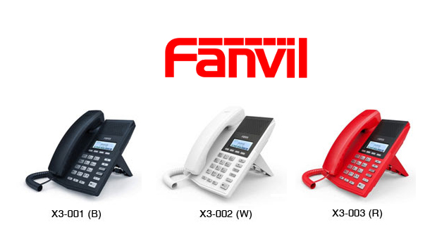 Fanvil Introduces New X3 IP Phone with revolutionary design concepts and elegant appearance