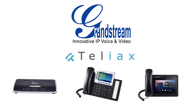 Teliax Announces Certification of Grandstream IP Phones and IP PBX Appliance