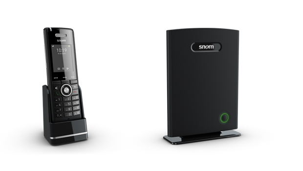 snom Delivers New Mobile DECT Business Phones And Base Station