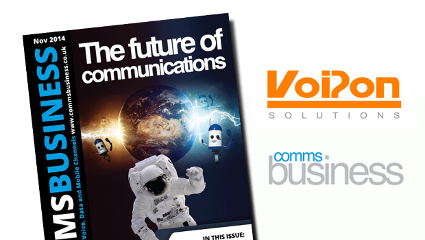 VoIPon Discuss the Latest VoIP Phones and the Latest Trends with Comms Business Magazine