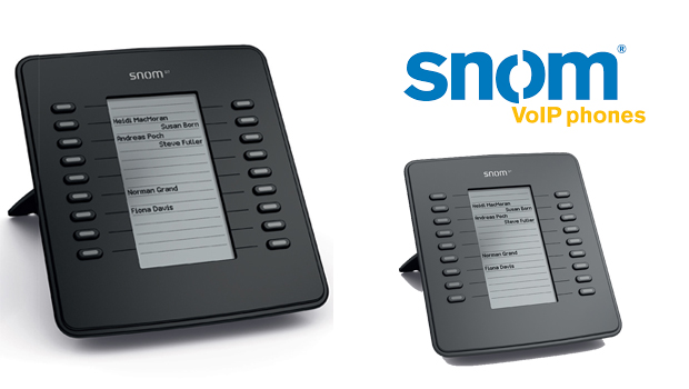 snom Announce D7 Expansion Module For 7xx series IP Phones To Improve Productivity and Efficiency