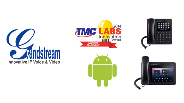 Grandstream GXV IP Video Phones for Android Receive 2014 Unified Communications TMC Labs Innovation Award