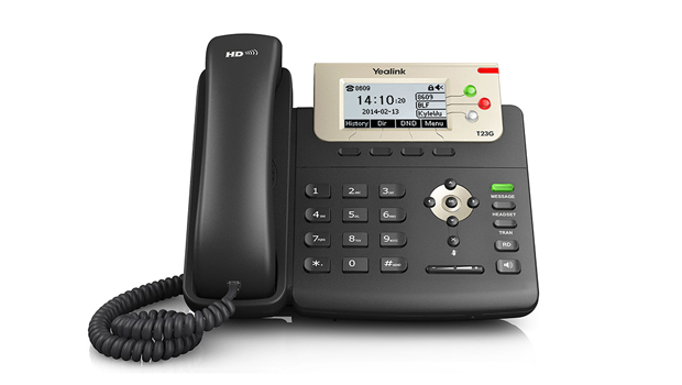 First Look at the Yealink T23G VoIP Phone