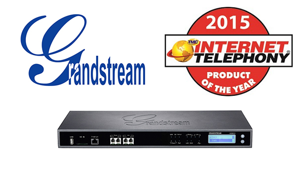 Grandstream UCM6510 IP PBX Receives 2015 Internet Telephony Product of the Year Award