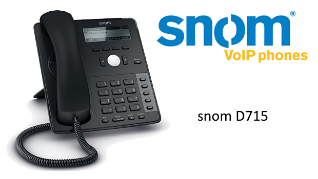 First Look at the snom D715 VoIP Phone