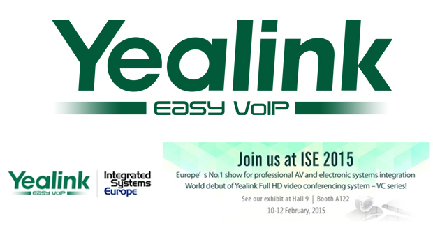 Yealink to attend Integrated Systems Europe 2015