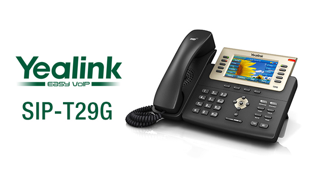 Yealink unveils the new T29G Gigabit entry-level VoIP Phone