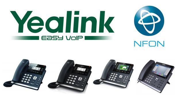 NFON AG Certifies Yealink Becoming the 7th Certified Brand in NFON's Portfolio