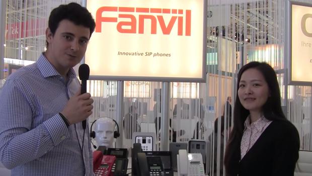VoIPon Interview Fanvil on new IP Phones, SIP Door Entry and more @ CeBit 2015