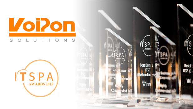 VoIPon Sponsor Best VoIP CPE Award at ITSPA 2015