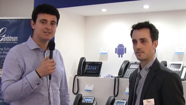 VoIPon interview Grandstream on the new GXP1600 IP Phones, GVC3200 and more @ CeBit 2015