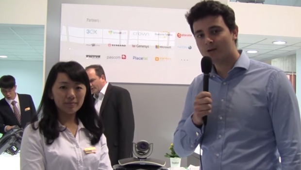 VoIPon interview Yealink on the new T27P, T29P, VCS and more @ CeBit 2015