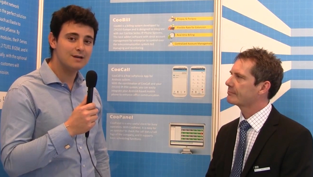 VoIPon Interview ZYCOO on the new iSpeaker, CooVox, CooBill and more @ CeBit 2015