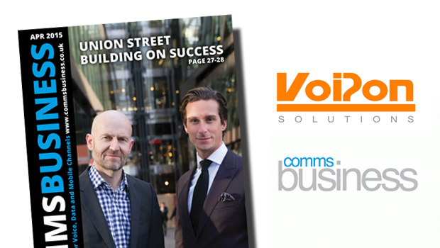 VoIPon Discuss Advantages of SIP Trunking, Cost Savings to be Made, SIP Trunk Security and More with Comms Business Magazine