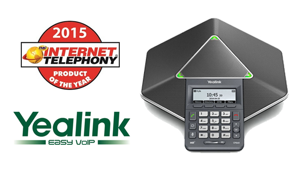 Yealink IP Conference Phone CP860 receives 2015 INTERNET TELEPHONY Product of the Year Award