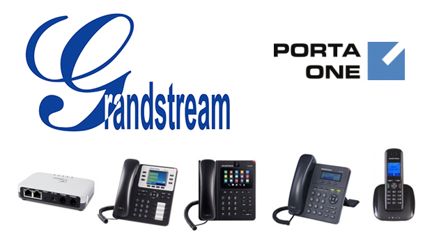 PortaOne Announces Interoperability of Grandstream IP Phones and ATAs With PortaSwitch VoIP Platform