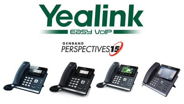 Yealink to Sponsor GENBAND's Perspectives15 Annual Customer & Partner Summit in Orlando, Florida