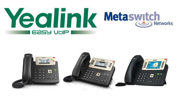 Yealink Announces Interoperability with Metaswitch Solution, Yealink SIP T2X Series Certified for Metaswitch Networks' Mosaic Partner Program