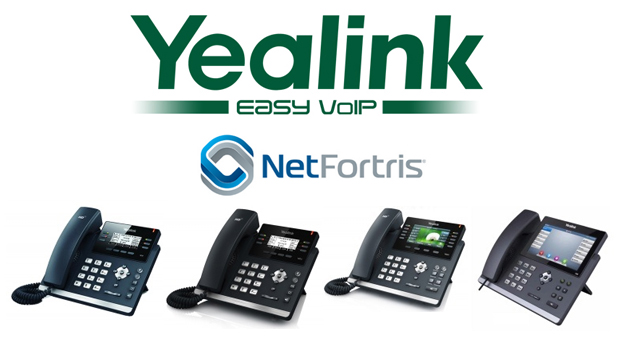 Yealink and NetFortris bring powerful IP phones and network together