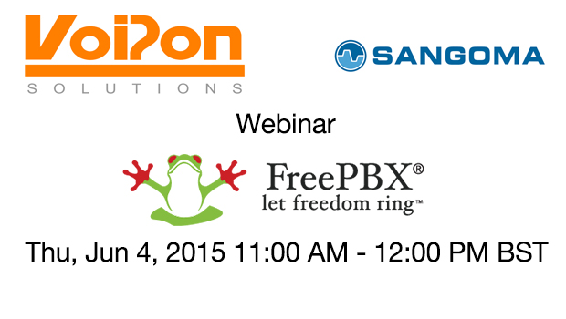 VoIPon Webinar – Sangoma FreePBX Appliances Launch