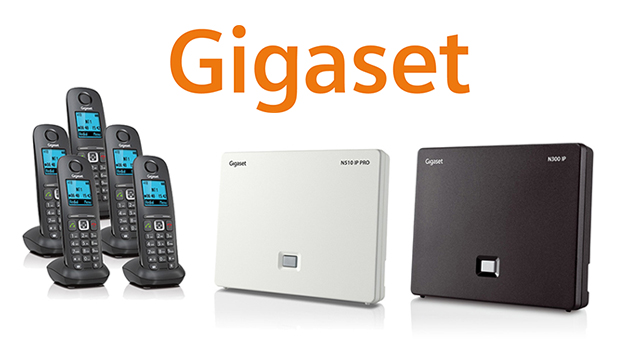 First Look at the Gigaset A540H DECT Phone System