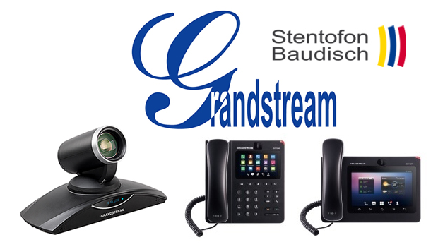 StentofonBaudisch Certifies Grandstream IP Video Phones with SIP Video Door Stations