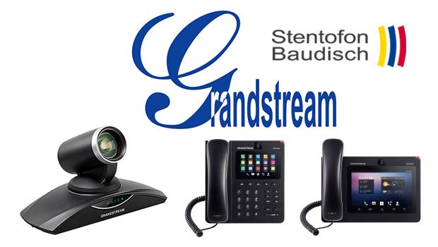 StentofonBaudisch Certifies Grandstream IP Video Phones with SIP Video Door Stations