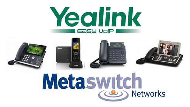 Yealink Updates IP Phone Portfolio for Metaswitch Networks Platform