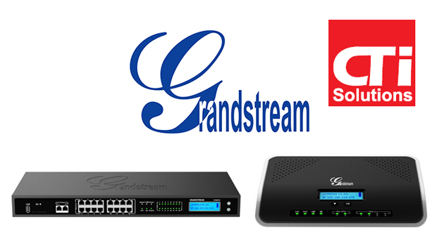 CTI Solutions Certifies Grandstream UCM series of IP PBXs with the Chromis REC Call Recording Management Software