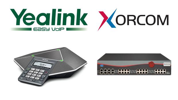 Yealink announces enhanced integration between IP phones and Xorcom's CompletePBX