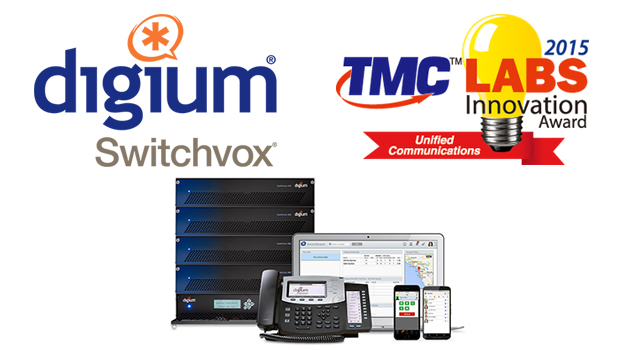 Digium's Switchvox winner of the 2015 TMCLabs Innovation Award